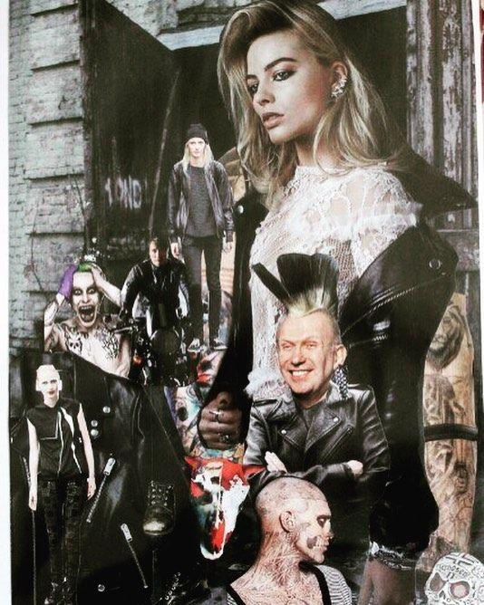 Коллаж 2015г. Тема субкультур. #punk #collage #trend #pinterest #панк #коллаж #тренд