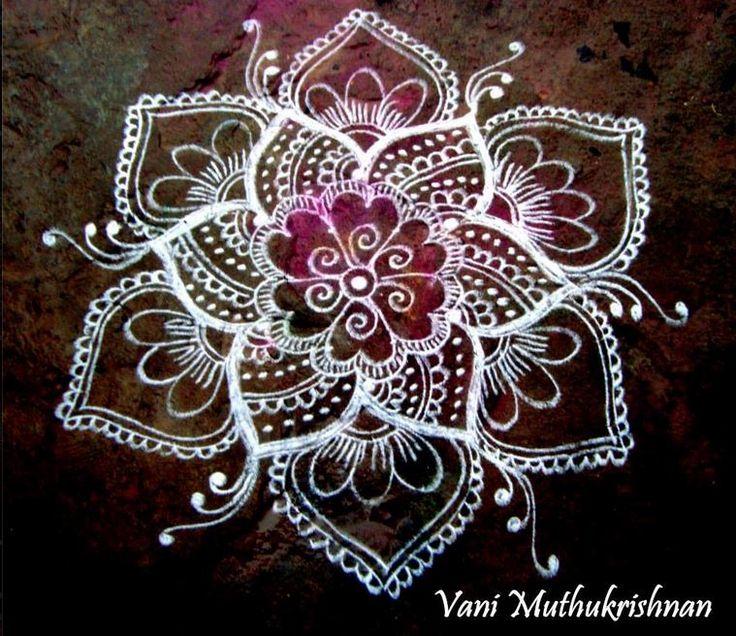 Simple Kolam Designs