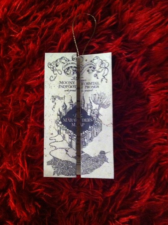 Hey, I found this really awesome Etsy listing at https://www.etsy.com/listing/169275141/set-of-4-harry-potter-marauders-map