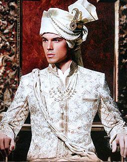 Royally turbanned