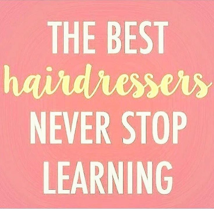 Hairstylist Quotes: 25+ Best Hairstylist Quotes On Pinterest