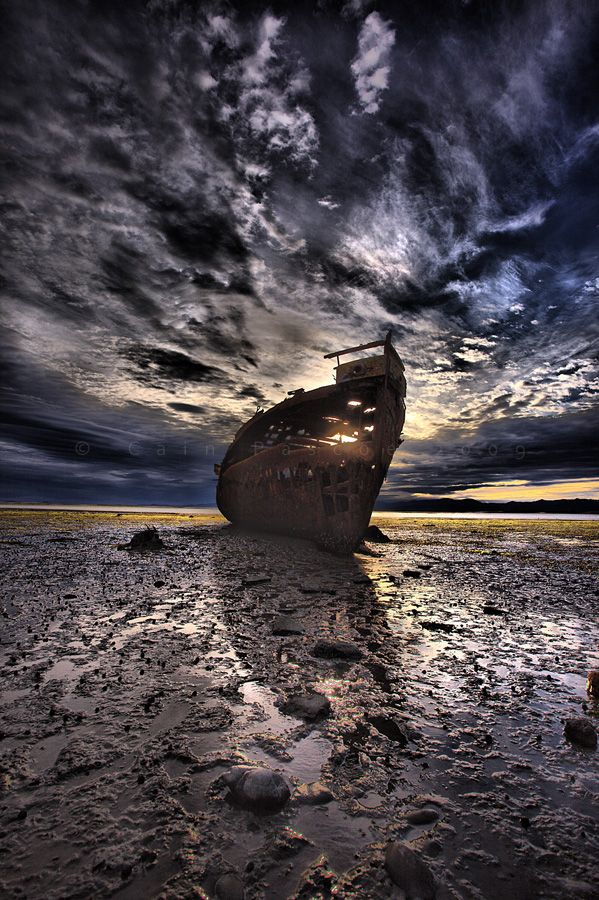 Motueka, New Zealand  Ruins And Dead Ends by Cain Pascoe