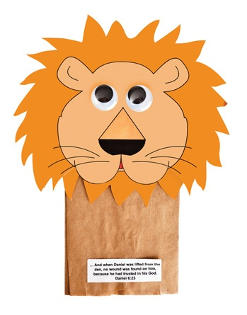 Lion Puppets (215-854) from Guildcraft Arts  Crafts!