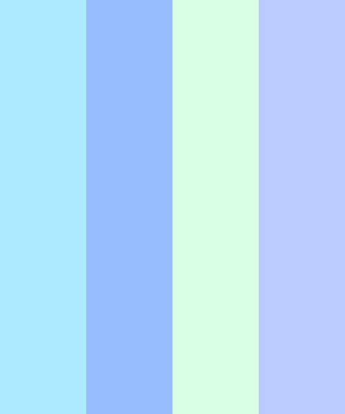Peaceful Color Palette in 2020 | Color schemes, Calming ...