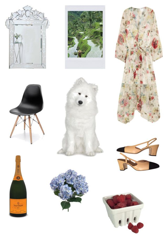 springtime by zoe-alexa-robinson on Polyvore featuring Zimmermann, Chanel and Artland