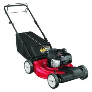 Yard Machines 21 in. 140cc OHV Briggs & Stratton Self-Propelled Walk-Behind Gas Lawn Mower 12A-A1BA729 at The Home Depot - Mobile