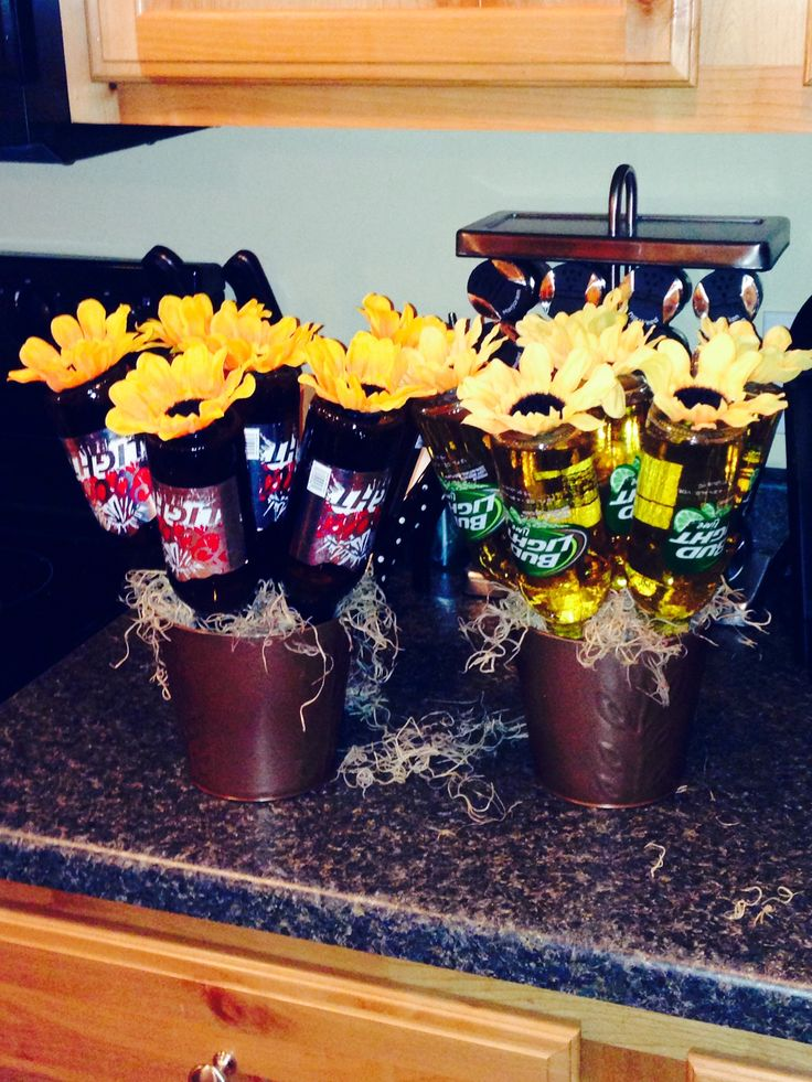 Beer bouquets for Father's Day! Or any gift for a man.