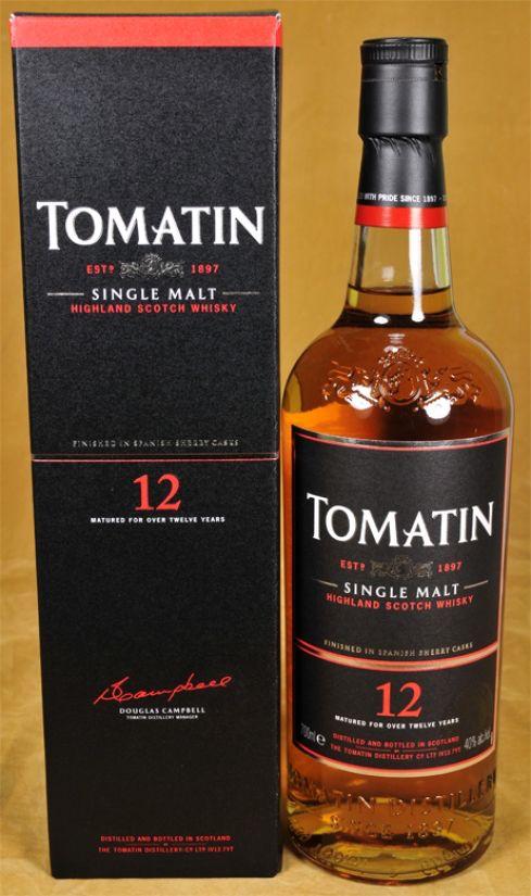 Tomatin Whisky 12 y.o.