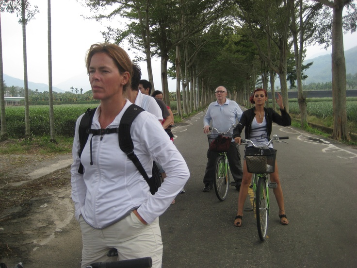 On this trip, we used all modes of transport - even bicycles which are as you would guess, very popular.