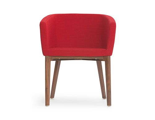 Meet Maggie Structube - Living room : Armchairs : Maggie (Red)