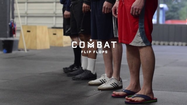 Combat Flip Flops, Bulls, and Crossfit. Video 2 from this crazy endeavor. #cause #military #combatflipflops