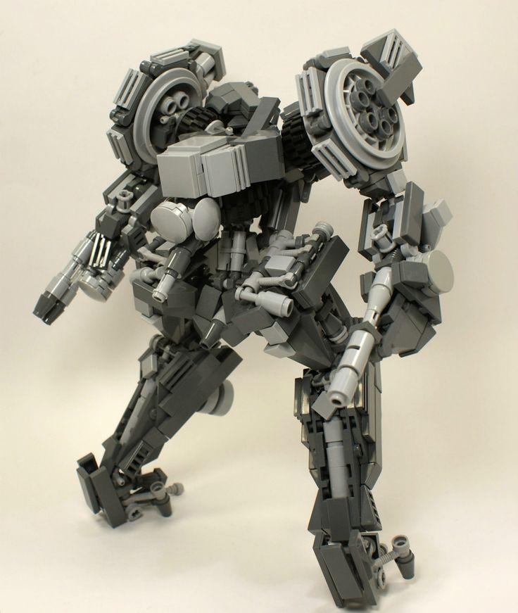 lego mech armor instructions