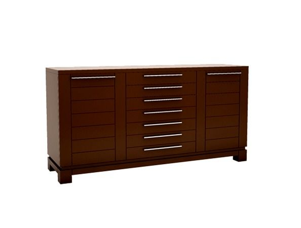 Betty - This beautiful buffet is the perfect blend of style and functionality -- not only does it look great but it provides the storage that everyone is looking for. Not to mention, it is made of North American birch wood, for those who do not want to sacrifice quality.