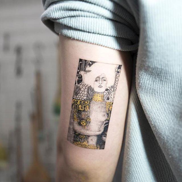 Gustav Klimt-Judith I #ilwolhongdam
