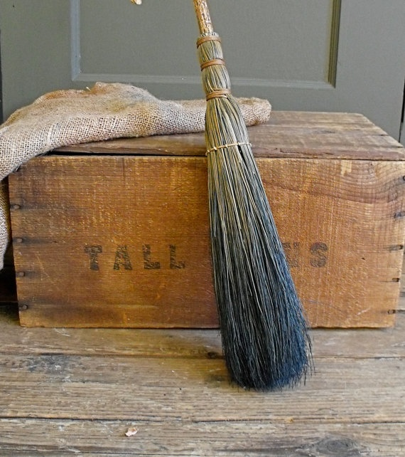 98 Best Old Primitive Brooms Images On Pinterest Straw Broom Thistles And Whisk Broom