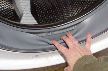 Чистим стиральную машину от плесени 0