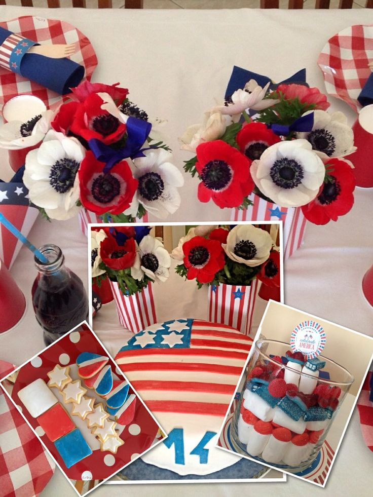 USA themed party