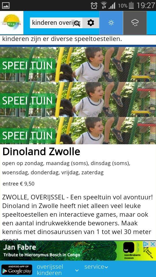 Dino speeltuin Zwolle