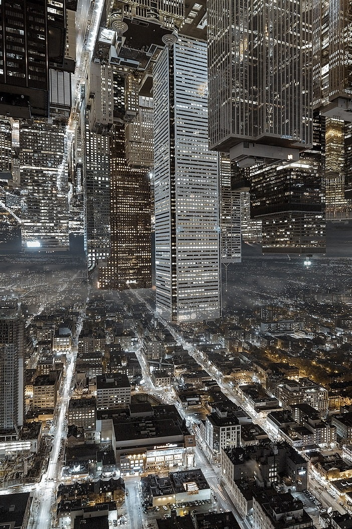 Upside Down Photography Science Fiction Art