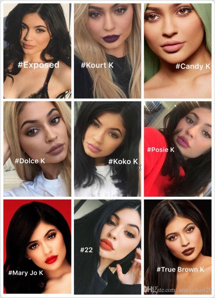 Kylie Lip Kit by Kylie Jenner Skylie Freedom Velvetine Liquid Matte Lipstick…