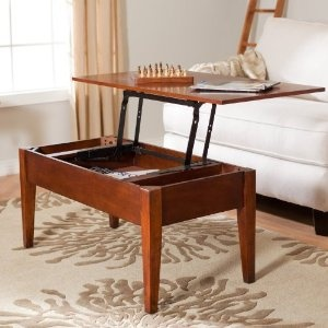 Turner Lift Top Coffee Table. Lifts Up For Dinnertime, Back Down For Movie  Time