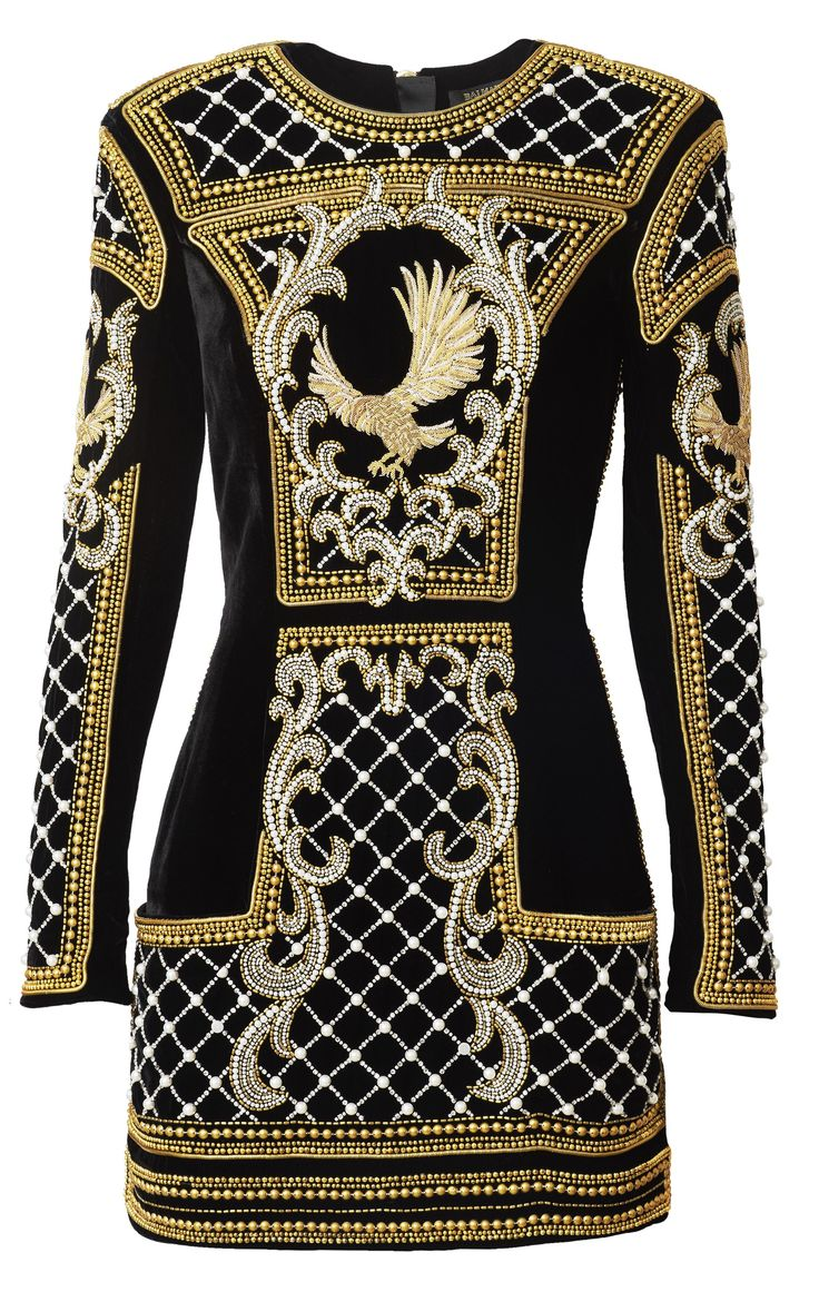 Every Single Piece in the Balmain x H&M Collaboration With Prices! From standouts like body-con rope dresses and embellished jackets to less buzzy but equally impressive boots, bags, and jewelry. See the collection before it hits stores on November 5. | @StyleCaster