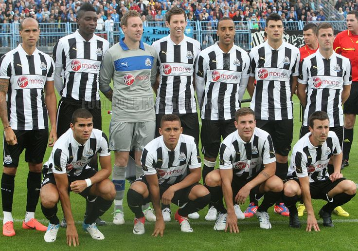 Newcastle United PUMA 2012/13 Home Kit