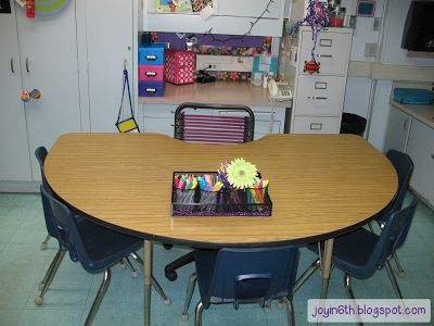 Saying good-bye to the teacher's desk... from Finding JOY in Sixth Grade