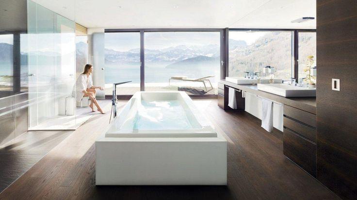 Koupelny s vanou v prostoru   Dům a zahrada - bydlení je hra