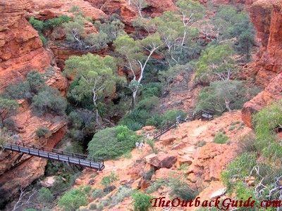 Boardwalk Kings Canyon, Australia
