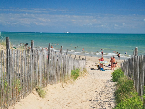 CAMPING L'OCEAN ILE DE RE *** LA COUARDE SUR MER, Ile de Ré, Atlantique beach where my mom spent many summers as a kid and later we did as kids