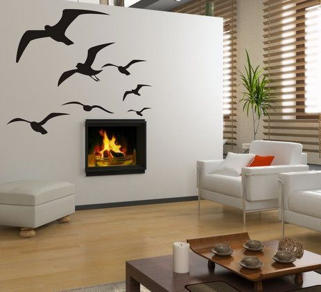 (3069x) Šablóny a predlohy na maľovanie - Letiace vtáky   ARTSABLONY.SK