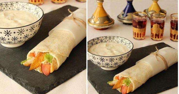 Dürüm kebab casero