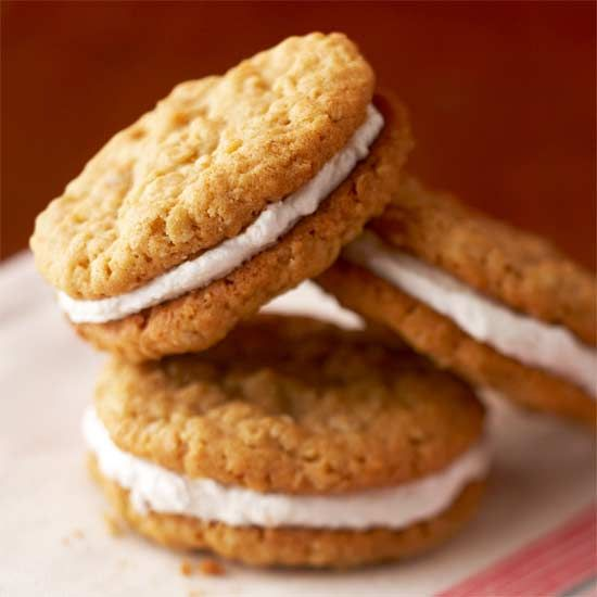 Our Homemade Oatmeal Cream Pies have hints of peanut butter and brown ...