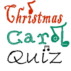 Christmas Carol (songs) Fa La La Trivia Game by Brownielocks.