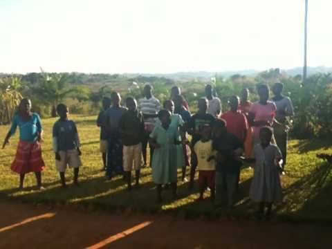 the children at smile malawi (a group home for orphans, outside blantyre) sing us goodbye in june 2010.