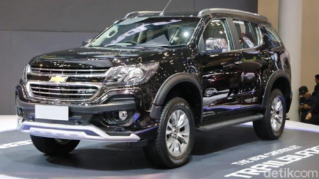 Harga Dan Specs Chevrolet Trailblezer Chevrolet General Motors