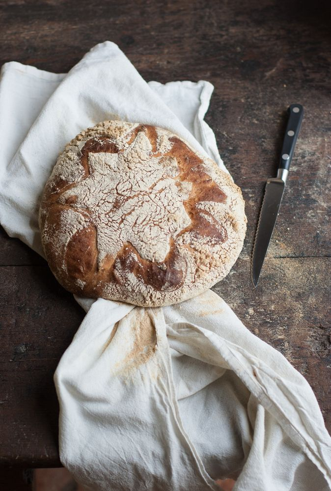 Pane semintergrale con farina di ceci