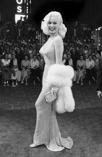Mamie Van Doren in a publicity still in the 1950s. Description from pinterest.com. I searched for this on bing.com/images