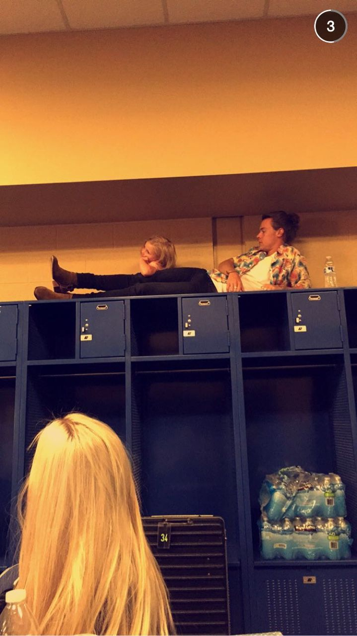 Haz and Lux... How did they even get up there?!?!?