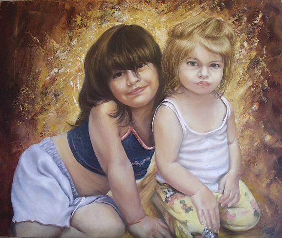 Сестренки, автор Arustamyan Tatiana.