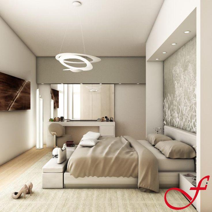 Soluzione n. 2 della camera da letto  www.feniceinteriors.it
