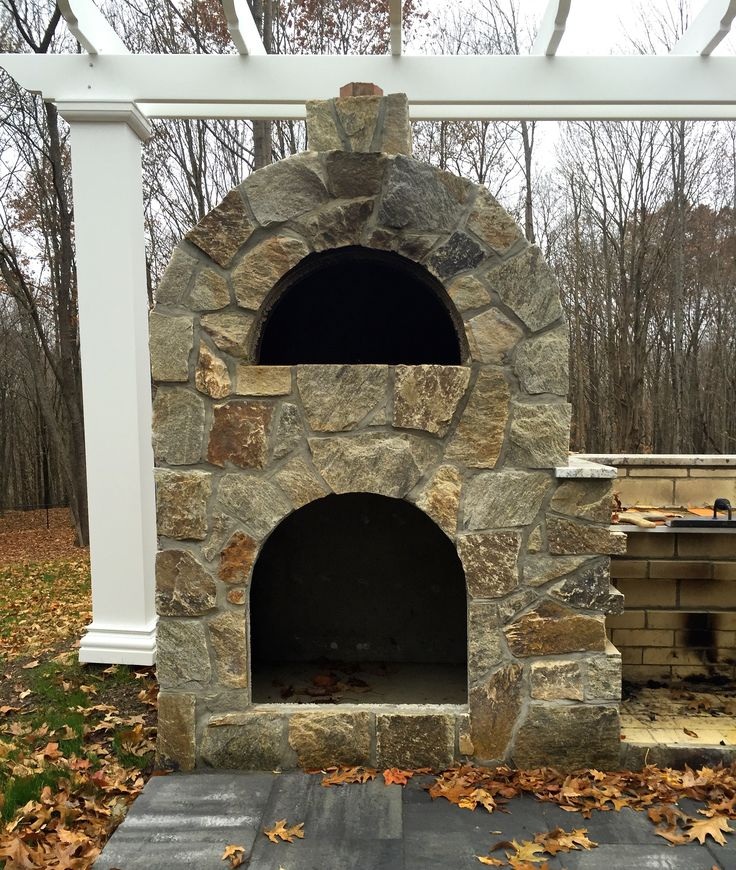1000 images about pizza ovens on pinterest outdoor living wood oven and natural stone veneer - Outdoor stone ovens ...