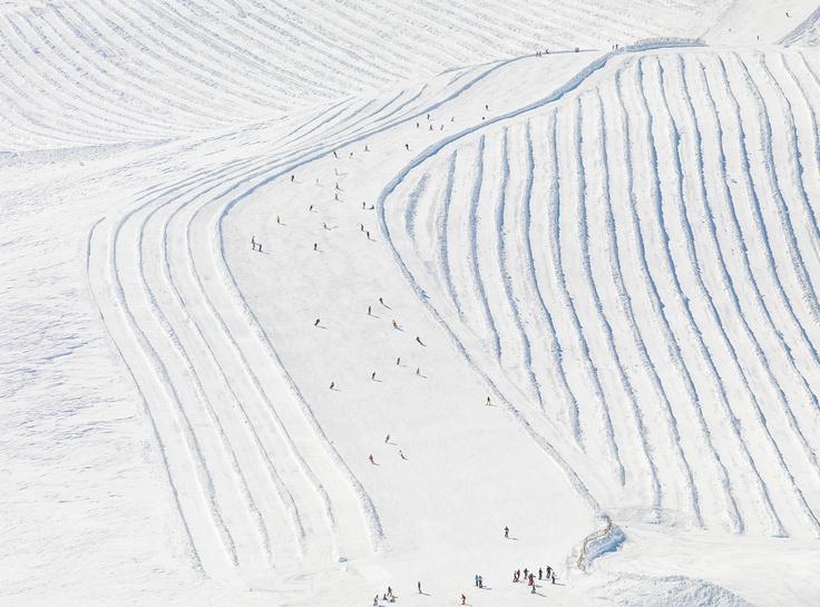 Patrick Smith Ski fields in Tignes, France