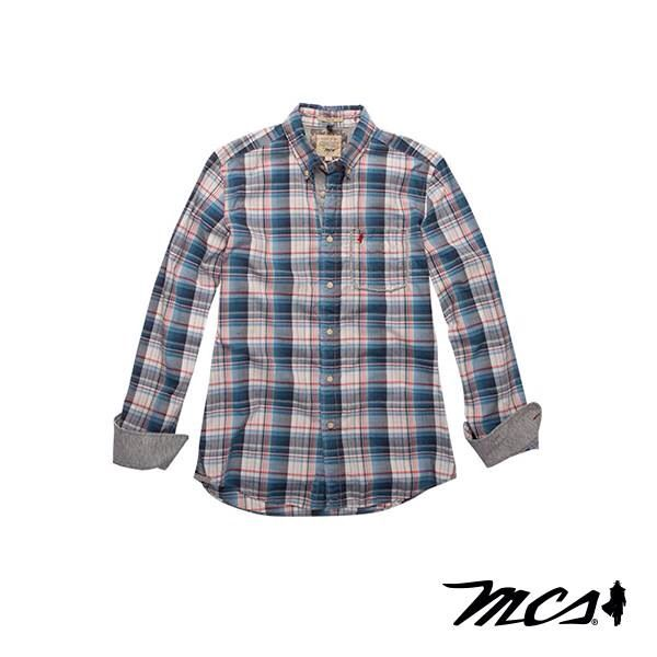 Navy Blue Checks that never go out style MCS - Coin Excelsior- Rome - Via Cola Di Rienzo 173