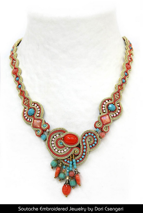 Embroidery Reinvented – Soutache Jewelry