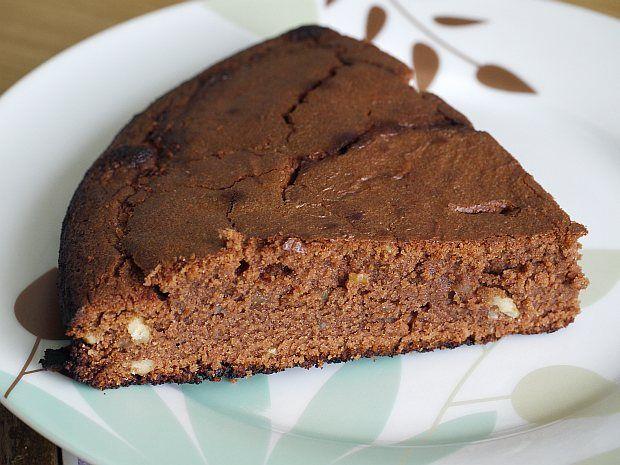 Ciasto czekoladowo migdałowe