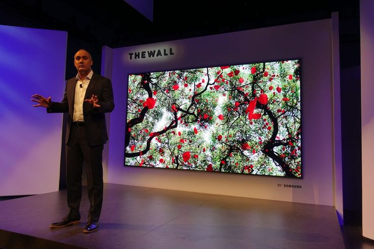 Samsung has introduced first ever 146-inch 'modular' TV. Named as 'The Wall', the micro-LED TV is said to 'transform into any size' while showing bright and colorful content. #Samsung #TheWall #146inch #ModularTV #MicroLEDTV #TechnologyNews #ChennaiUngalKaiyil