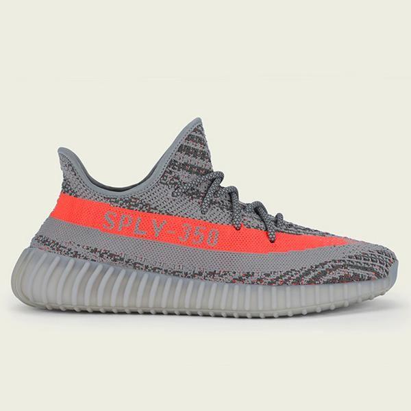 Adidas Yeezy Boost 350 V2 Steel Grey Beluga Solar Red Adidas Yeezy Yeezy Shoes Yeezy