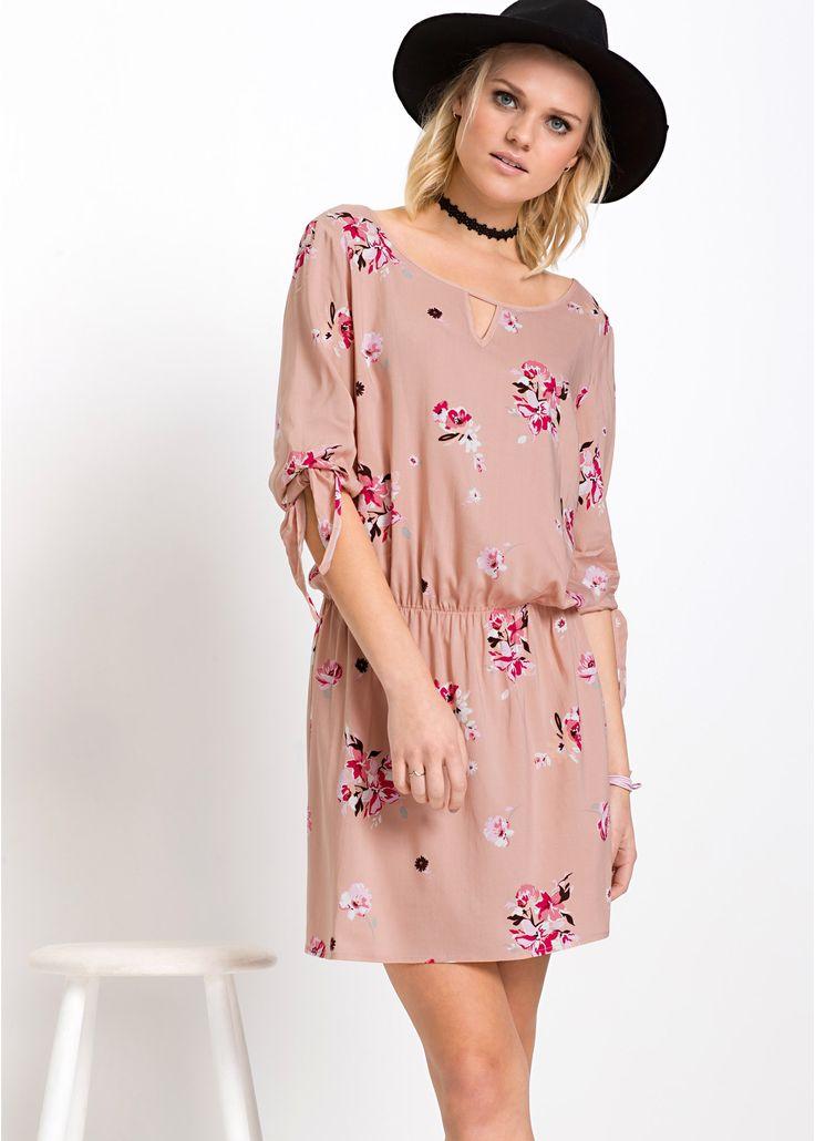 MUST-HAVE Kleid vintagerosa geblümt - RAINBOW jetzt im Online Shop von bonprix.de ab ? 24,99 bestellen. Kleid in unterschiedlichen all-over-Drucken mit ...